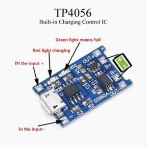 TP4050 lithium battery charging module