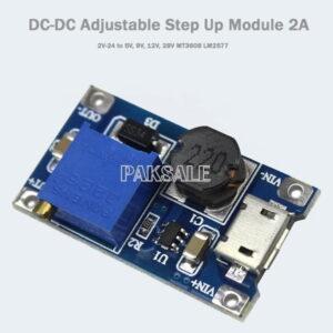 Micro USB Step Up Module Converter 2A Image