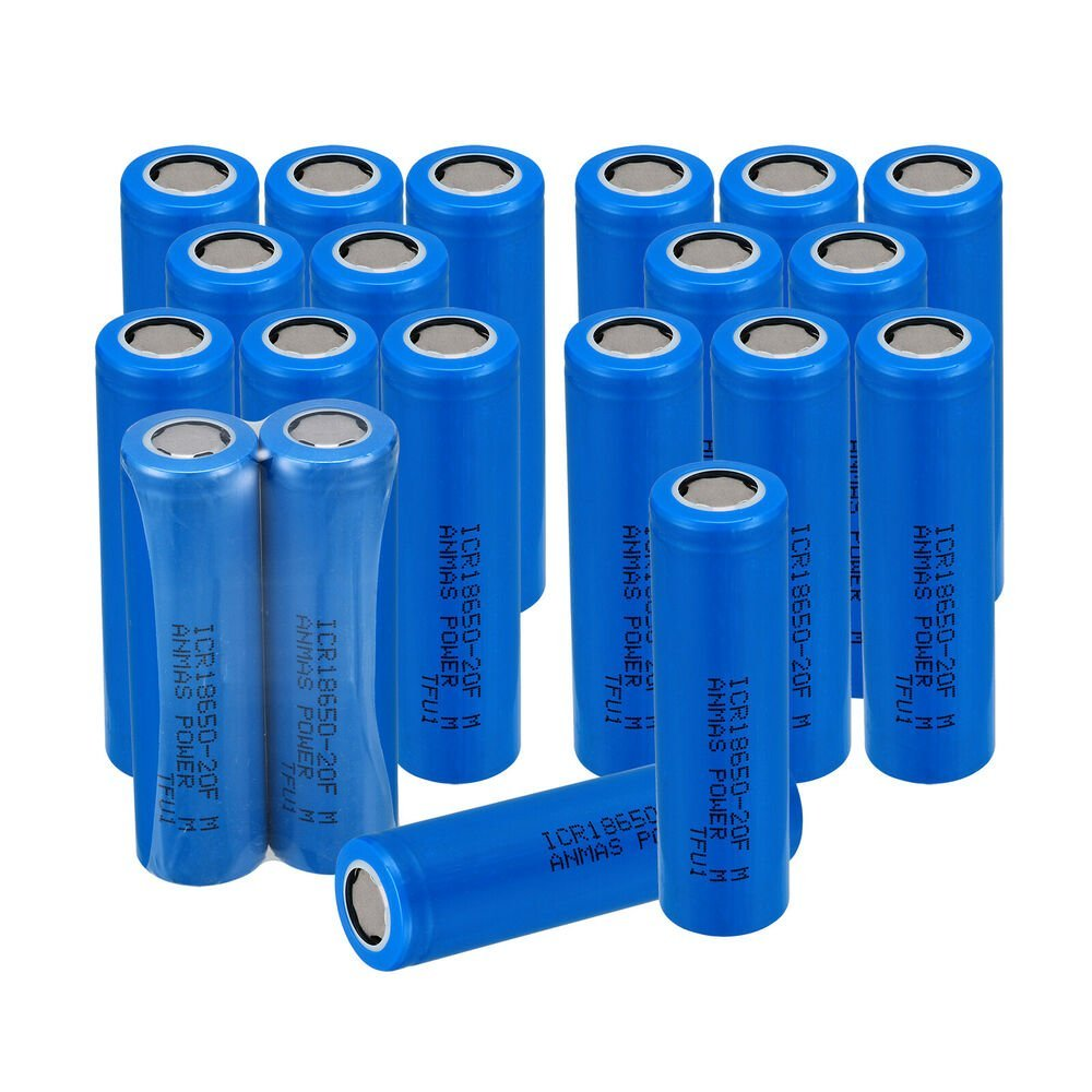18650 High Quality 2000mah Rechargeable Batteries