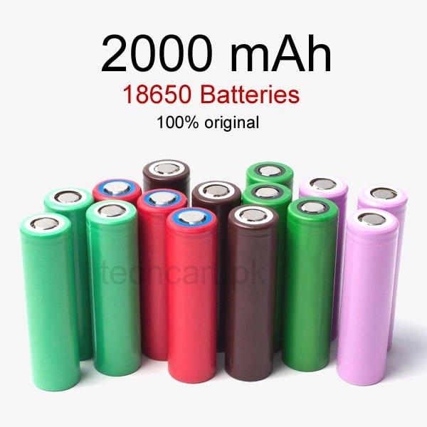 18650 batteries original