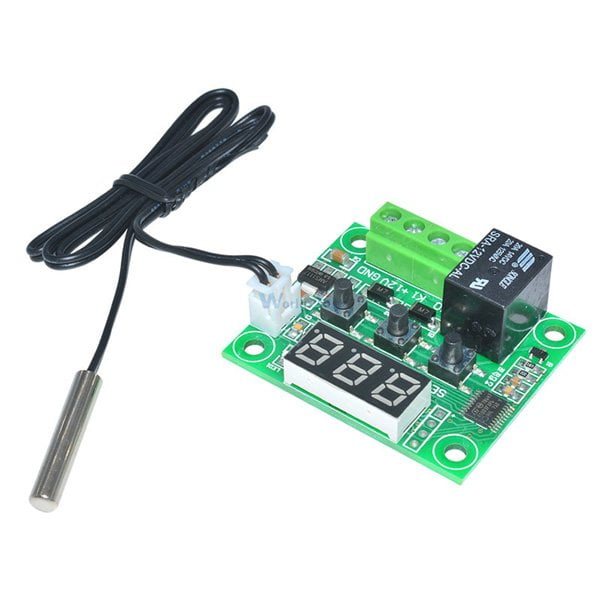W1209 12V LED Digital Heat Cool Control Thermostat Temperature Control Module