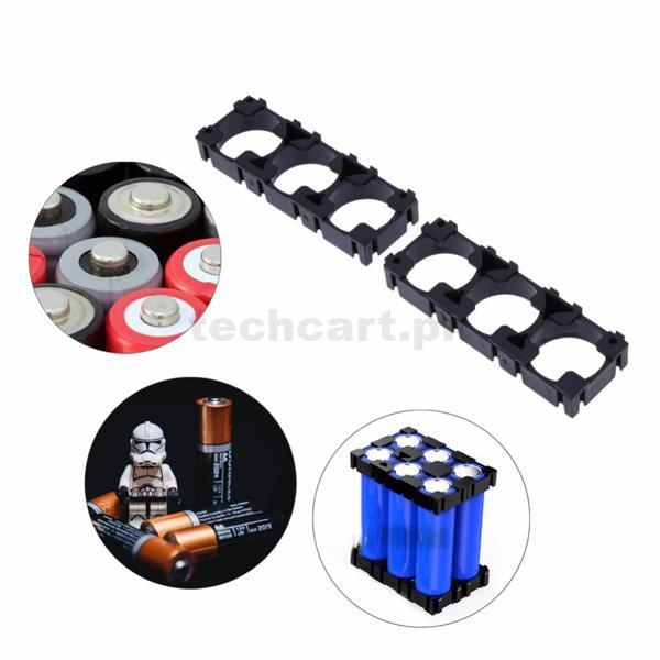 18650 Lithium Cell Cylindrical Battery Case Holder Bracket for Batteries