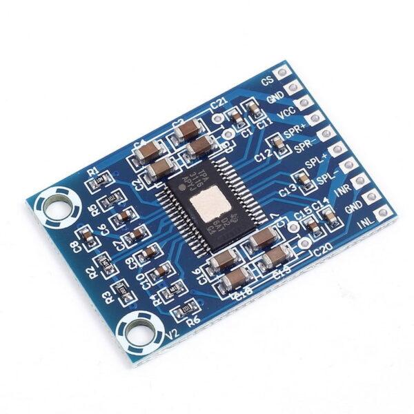 TPA3116D2 Class D Dual Channel Audio Amplifier Board