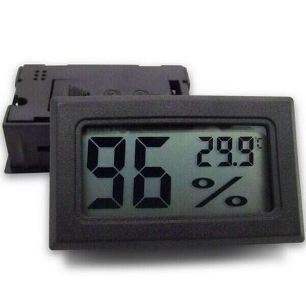 Digital LCD Humidity Temperature Meter