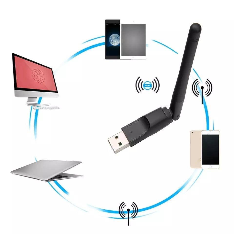 WiFi Wireless Network Card 802.11 b/g/n LAN Adapter Price ...