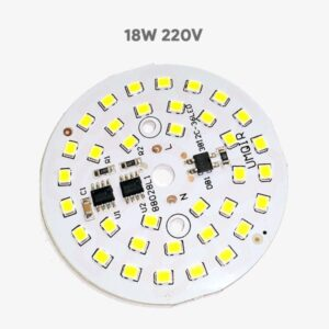 18w 220v pcb led light chip board with driver