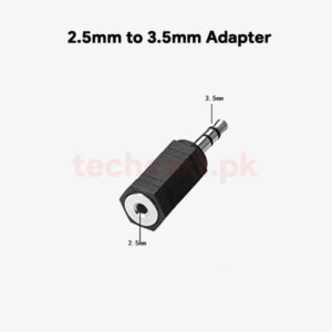 2.5mm to 3.5mm adapter