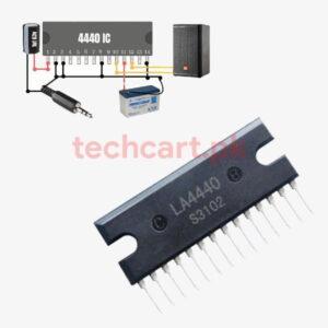 LA4440 amplifier IC bridge