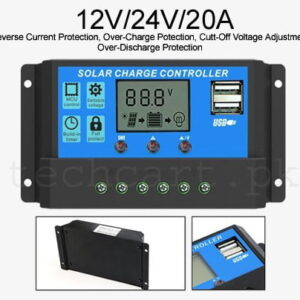 solar charge controller pwm 20a