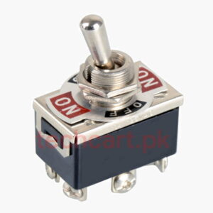 6-Pin Toggle DPDT ON-OFF-ON Switch 15A 250V Mini Switches E-TEN1322 Tool