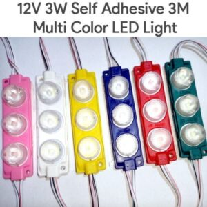 12v 3w self adhesive decoration led lights