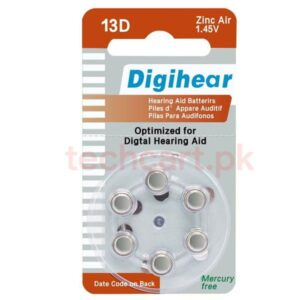 13d hearing aid battery price in pakistan