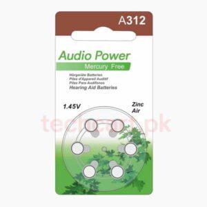 A312 hearing aid batteries