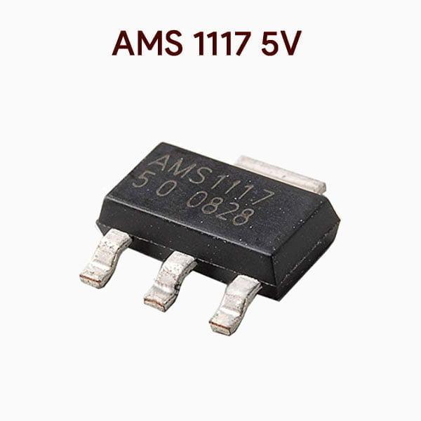 AMS 1117 5v Fixed voltage regulator