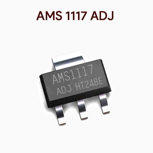 AMS1117 ADJ Adjustable Voltage Regulator