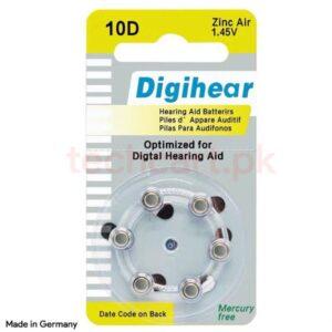 hearing aid battery digihear 10d